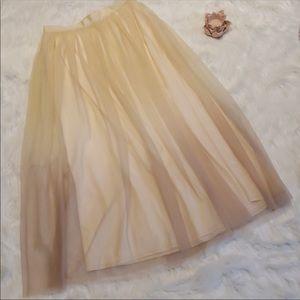 Lauren Conrad pink runway skirts. Soft, flowy!